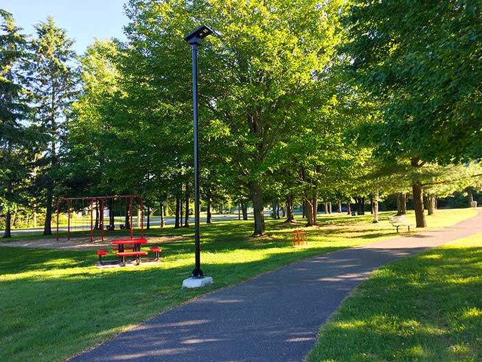 Solar Lighting Systems for Parks