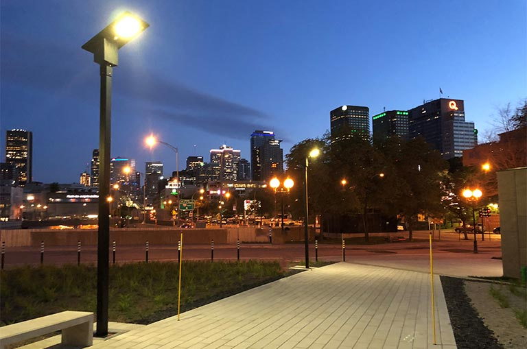 Solar Lighting System in Montreal