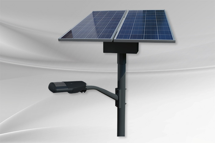 Commercial solar lighting system