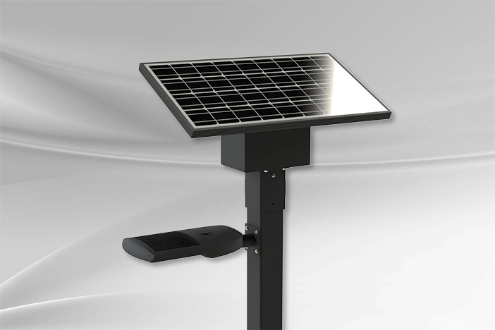 Commercial-grade solar lighting solution