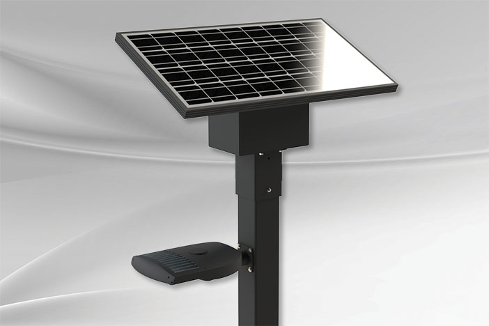 ZX100 Solar Lighting Solution in Canada